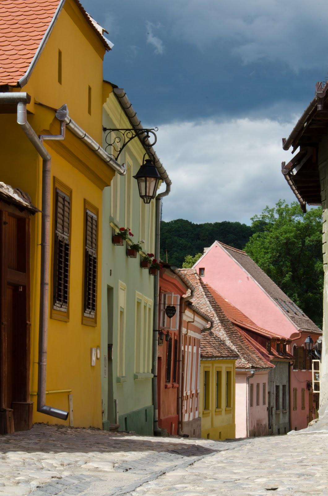 Sighișoara - străduțe colorate