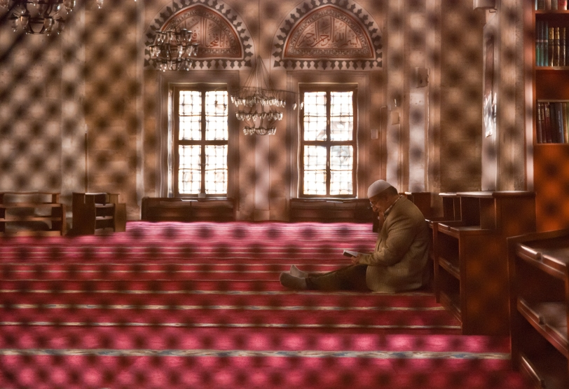 2011-04-25 29 Istanbul - Moscheea printului - Din zona de rugaciune a femeilor