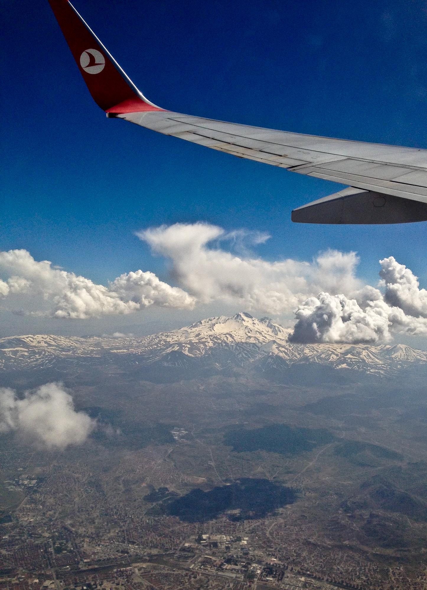 Capadocia-Aterizare in Kayseri la poalele lui Erciyes Dagi